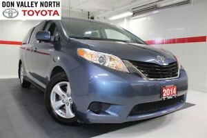 2014 Toyota Sienna LE 8 PASS Btooth BU Cam Heated Seats