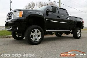 2011 GMC SIERRA 2500HD DENALI Z71 4X4 - 6IN CST LIFT
