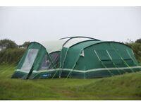 Kampa Tenby 10 Tent - Large 10 man tent