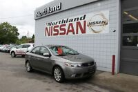 2010 Kia Forte 2.4L SX / Leather / Sunroof
