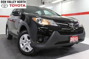 2015 Toyota RAV4 LE AWD Btooth Cruise Pwr Wndws Mirrs Locks A/C