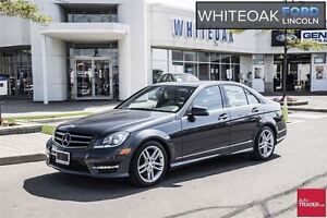2014 Mercedes-Benz C-Class C300 4MATIC,ONE OWNER,CLEAN,REDUCED