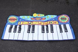 Children's large walk-on keyboard
