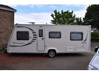Bailey Pageant Caravan Burgundy 2008...Lovely clean condition..Includes full awning and groundsheet