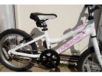 Girls Ridgeback Melody bicycle. Quality bike, barley used. Ready to ride. Suit approx 4-7yrs.