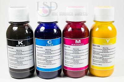 4x100ml High Quality Sublimation Ink For Epson Printers