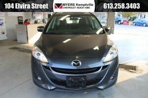 2017 Mazda MAZDA5 GT Sunroof and Leather!!!