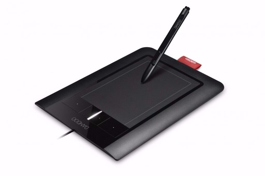 Wacom Bamboo Pen And Touch Graphics Tablet Model Cth 460