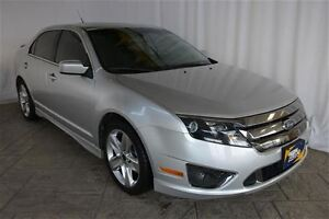 2011 Ford Fusion SPORT AWD, LEATHER, SUNROOF, ONE OWNER