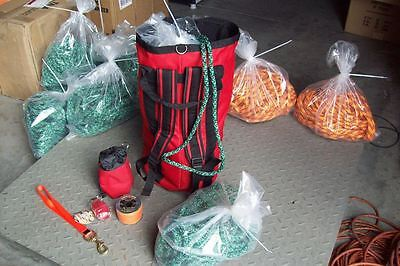 Arborist Throw Bag Kit Throw Line Bagclimbing Rope Bag Saw Strap
