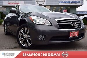 2012 Infiniti M37x Base *Navigation,Leather,Rear view monitor*