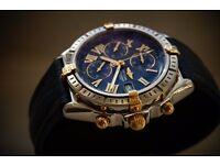Breitling Crosswind automatic chronograph wristwatch - B13055 - original model - Swiss