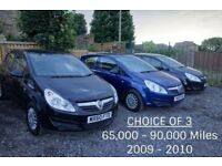 2009 Vauxhall Corsa 1.3 CDTI DIESEL **ECOFLEX** £30 TAX, 60MPG, CHEAP INSURANCE, LOW MILEAGE