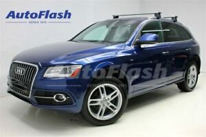 2015 Audi Q5 2.0L Turbo S-Line Technik *Toit* Camera* Navi*