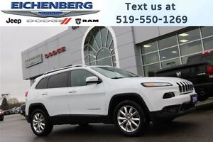 2014 Jeep Cherokee Limited 4X4 *V6 ENGINE*