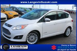 2015 Ford C-Max SEL/CUIR/GPS/TOIT PANORAMIQUE