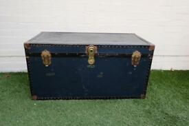 Vintage travel chest / coffee table / storage box