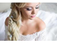 bridal hair and makeup Dorset