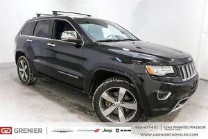 2015 Jeep Grand Cherokee Overland DIESEL*Cuir,toit,Nav,Suspensio