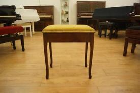 Traditional piano stool. Excellent condition