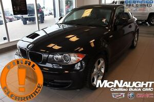 2011 BMW 1 Series 128i | 6 Speed | Premium Pkg | Leather Pkg