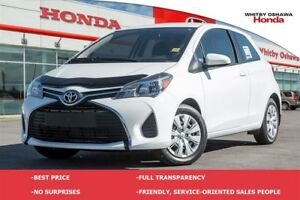 2016 Toyota Yaris CE | Manual