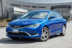 2016 Chrysler 200 Limited, REMOTE START,