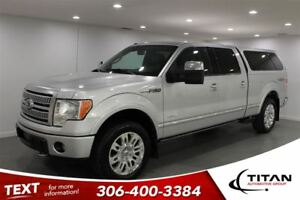 2012 Ford F-150 Platinum Nav Sunroof Max Tow Topper PST Paid