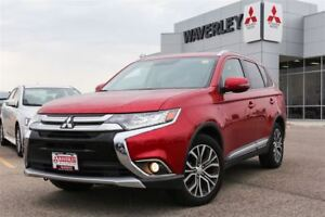 2016 Mitsubishi Outlander GT/LEATHER/PREMSOUND/7SEATS
