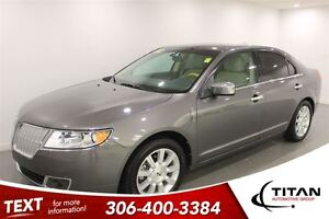 2012 Lincoln MKZ AWD DVD Nav Heated Leather PST Paid