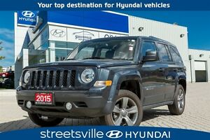 2015 Jeep Patriot 4X4 LEATHER ROOF FORMER RENTAL