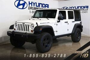 2007 Jeep Wrangler UNLIMITED RUBICON + 4X4 + A/C + 2 TOIT + MAGS