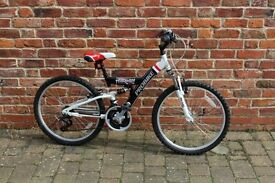 """Boys Mountain Bike - Probike Trailblazer, 14"""" frame, 24"""" wheels, 18 Speed"""