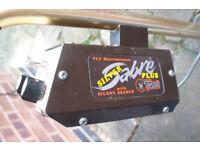 Tesoro Silver Sabro Plus metal detector.