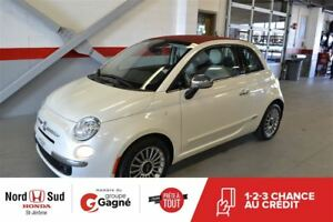 2013 Fiat 500C Lounge*DÉCAPOTABLE*CUIR*MAGS*