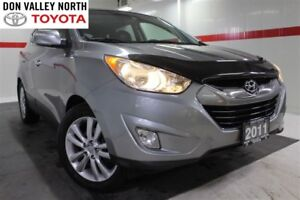 2011 Hyundai Tucson Limited USB AUX Heated Lther Pwr Seats