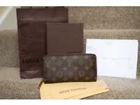 Louis Vuitton (genuine) monogram zippy wallet - excellent condition