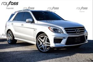 2014 Mercedes-Benz M-Class 4DR ML63 AMG Nav Roof 518HP