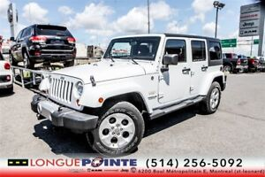 2013 Jeep WRANGLER UNLIMITED Sahara 4X4, AUTO, MAGS,  Décodeur M