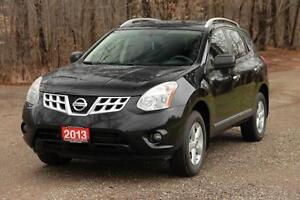 2013 Nissan Rogue S | AWD + Sunroof + CERTIFIED