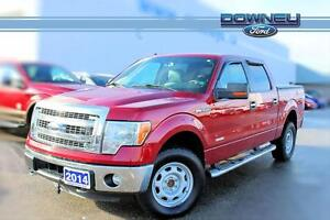 2014 Ford F-150 4X4 SUPERCREW SUMMERS AND WINTERS INCLUDED WHAT!