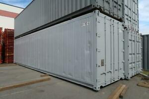 40ft High-Cube Container W/ Non-working Refrigerator