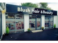 Hair stylist wanted for BLUSH hair and beauty