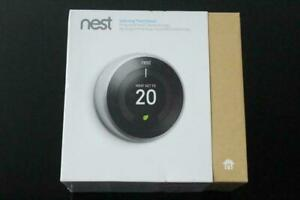 Nest Wi-Fi Smart Learning Thermostat 3rd Generation. Home, Renovation, Heating, Cooling, Construction, Saves Energy