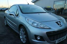 PEUGEOT 207 1.6 CC ALLURE 2d 120 BHP QUALITY & VALUE CHECKED (silver) 2010