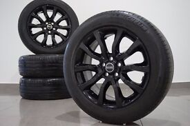 """Genuine Range Rover 20"""" Inch Alloy Wheels &Tyres Sport Discovery BLACK VW T5"""