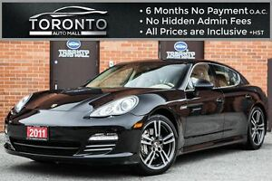 2011 Porsche Panamera 4S+V8+AWD+TURBO 2 WHEELS+NAVI+CAMERA+BOSE