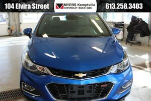 2017 Chevrolet Cruze Premier Auto Bose RS + Tech Package