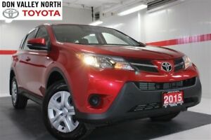 2015 Toyota RAV4 LE AWD Btooth Pwr Wndws Mirrs Locks A/C
