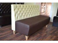 sofa bench for cafe